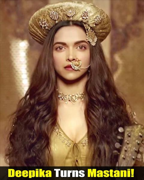 DEEPIKA'S ROYAL LOOK IN THE FIRST SONG 'DEEWANI MASTANI ...